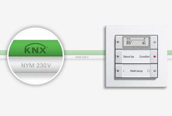 GIRA knx Sensor with cable